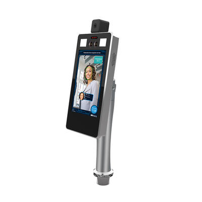 Face recognition & Thermometry Terminal Identity verification, 4G/WIFI/GPS optional 10000 face library, Voice broadcast  ID/IC card reader, Alarm Output / Wagen Output