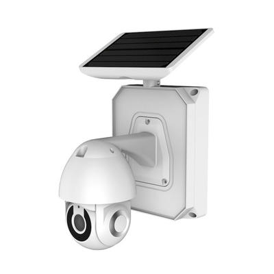INOX WIFI Solar Power IP Camera Ultra-Low-Power Sound-Light Alarm Camera  PIR+Microware Double Sensor 143 Degree Wide Viewing Angle