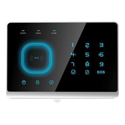 alarm security home GSM Home Alarm System RFID+Touch Keypad  Door Sensor/remote controller/PIR Sensor/Siren