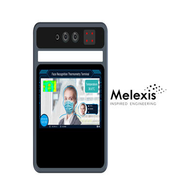 5 inch Face recognition & Thermometry Terminal Identity verification